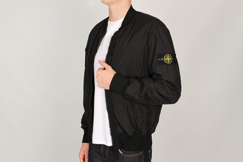 stone island bomber jacket