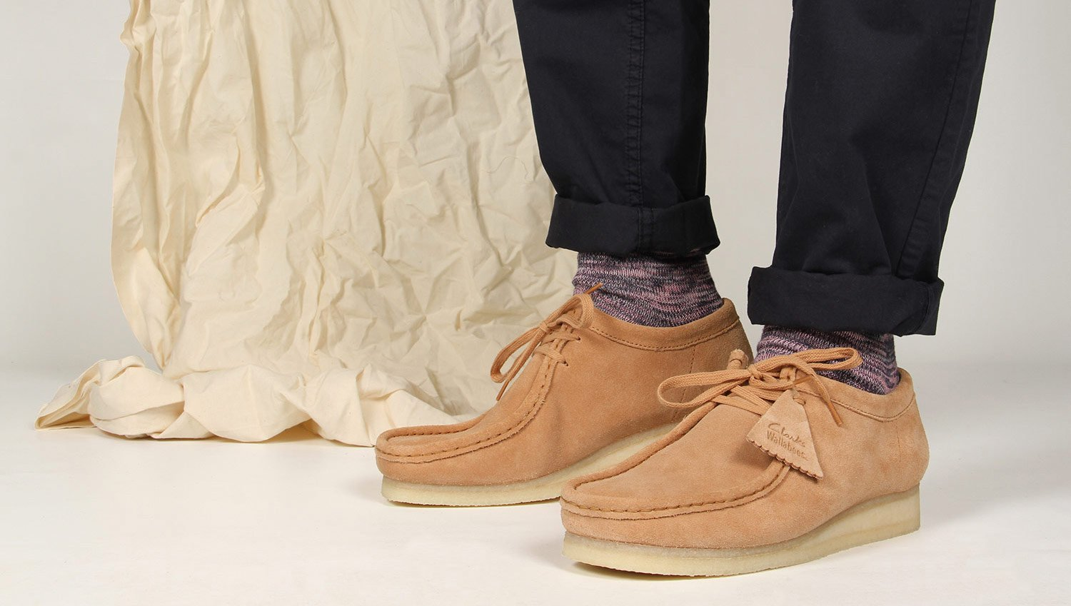 Clarks Wallabees