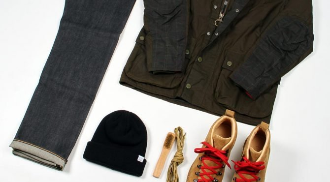 outfit grid babour norse projects fracap edwin