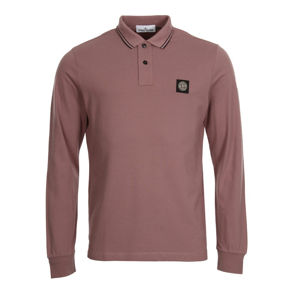 Stone Island Polo Shirt Rust