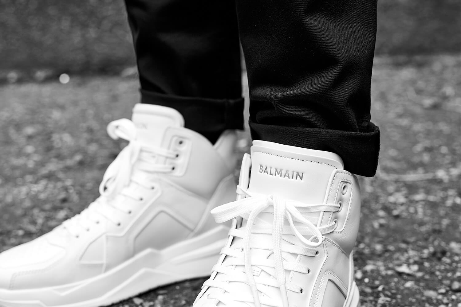 Balmain B-Ball Trainers