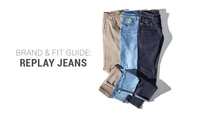 REPLAY Jeans Fit Guide