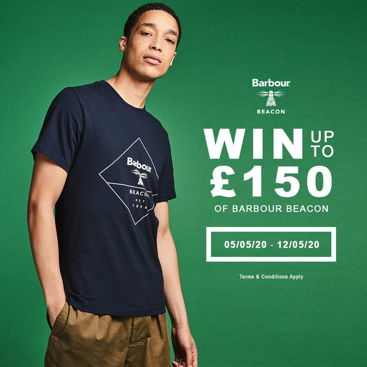 GIVEAWAY Barbour Beacon Aphrodite Clothing